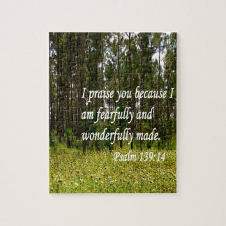 Fearfully and Wonderfully Made Jigsaw Puzzle