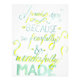 Fearfully and Wonderfully Made Letterhead