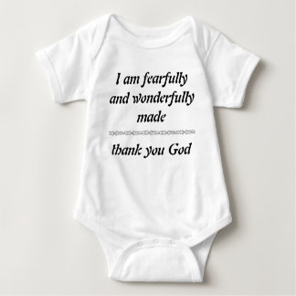 Fearfully and Wonderfully Made T-shirts