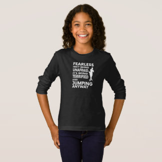 Fearless Figure Skating Long Sleeve T Shirt