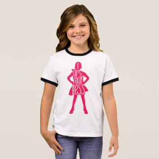 Fearless Girl, I am Fearless Girl's Ringer Tee