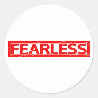 Fearless Stamp Classic Round Sticker