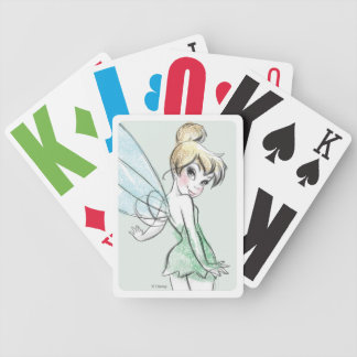 Fearless Tinker Bell Bicycle Playing Cards