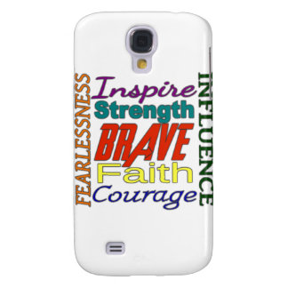 Fearlessness Courage Faith Etc Word Picture HTC Vivid / Raider 4G Case