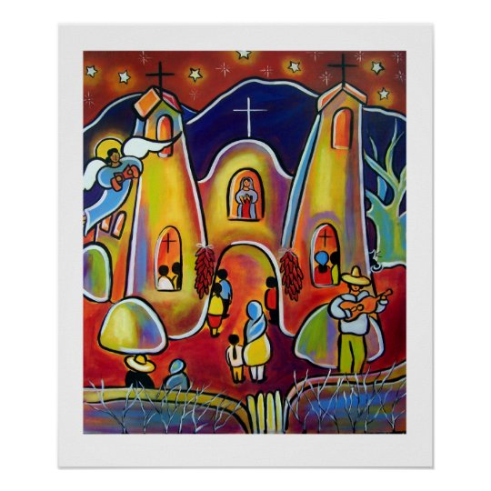 Feast Day Celebration by Jan Oliver Poster