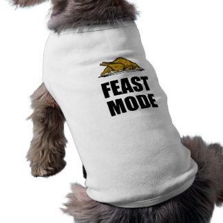 Feast Mode Thanksgiving Turkey Shirt