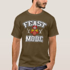 Feast Mode Turkey | Football Thanksgiving T-Shirt