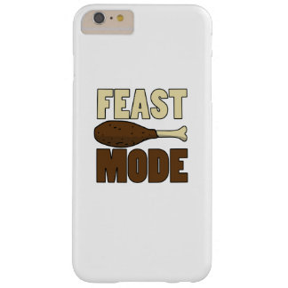 Feast Mode Turkey Leg Thanksgiving Funny Barely There iPhone 6 Plus Case