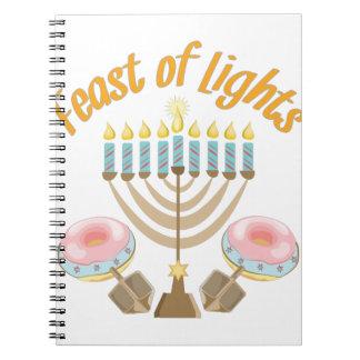 Feast Of Lights Notebook
