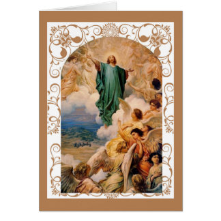 Feast of the Ascension of Jesus into Heaven Card