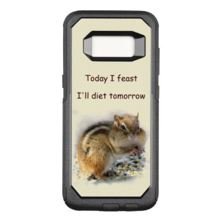 Feasting Chipmunk OtterBox Galaxy S8 Case