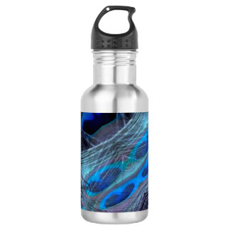 Feather Abstract 532 Ml Water Bottle