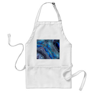 Feather Abstract Standard Apron