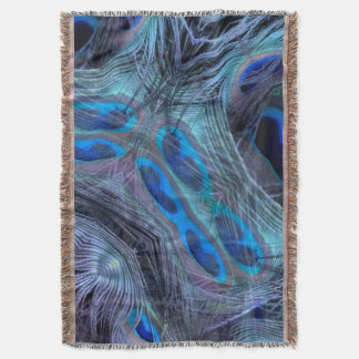 Feather Abstract Throw Blanket