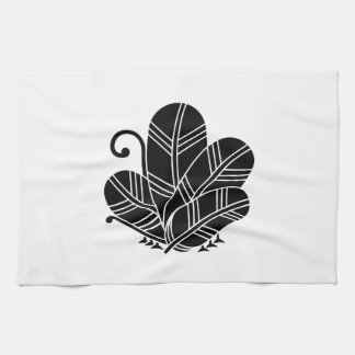 Feather butterfly of 鷹 kitchen towel
