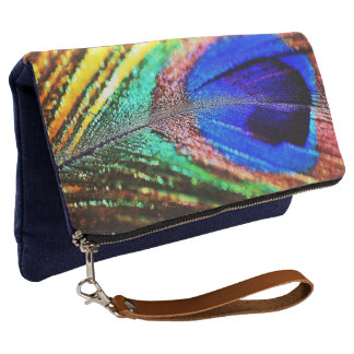 Feather by Shirley Taylor Clutch
