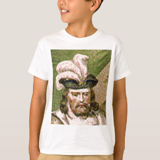 feather capped bearded man T-Shirt