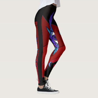 feather eye leggings