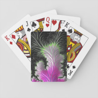 Feather Fractal Standard Deck of Cards