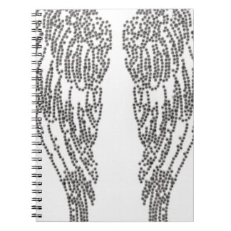 Feather of angel notebook