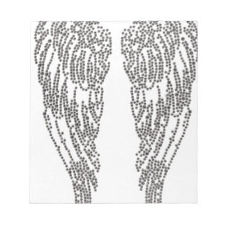 Feather of angel notepad