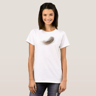 Feather on a shirt