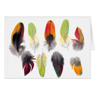 Feather Pattern Card