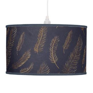 Feather Pattern Pendant Lamp
