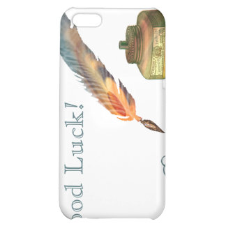 Feather Pen Good Luck iPhone 5C Case