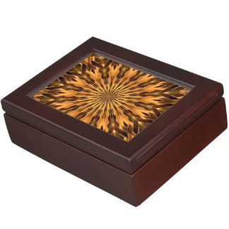 Feather Shield Medallion Memory Boxes