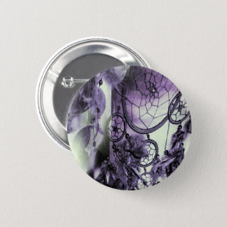 Feathered Dreams 2 Inch Round Button