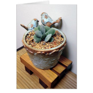 Feathered Friends Notecard - The Perfect Plant