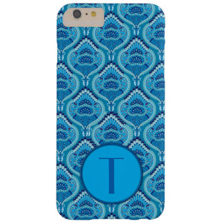 Feathered Paisley - Blueish Barely There iPhone 6 Plus Case