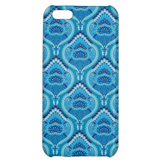 Feathered Paisley - Blueish iPhone 5C Case