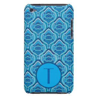 Feathered Paisley - Blueish iPod Case-Mate Cases