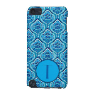 Feathered Paisley - Blueish iPod Touch 5G Case