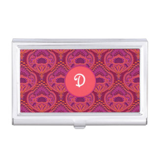 Feathered Paisley - Pinkoinko Business Card Holder