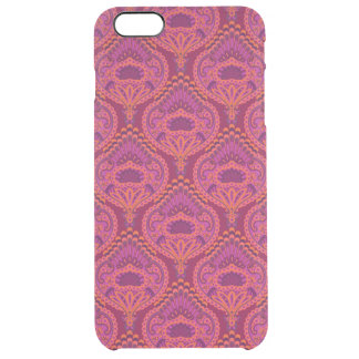 Feathered Paisley - Pinkoinko Clear iPhone 6 Plus Case