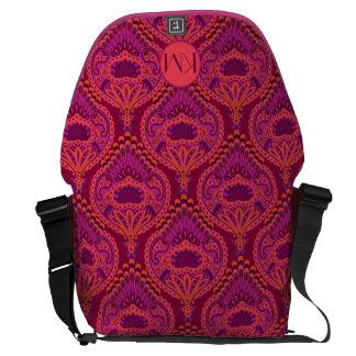 Feathered Paisley - Pinkoinko Commuter Bags