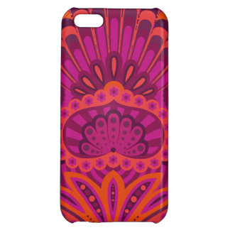 Feathered Paisley - Pinkoinko iPhone 5C Covers