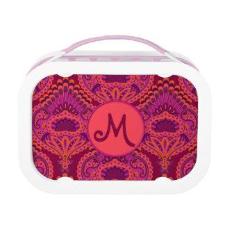 Feathered Paisley - Pinkoinko Lunch Box