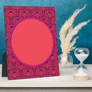 Feathered Paisley - Pinkoinko Plaque
