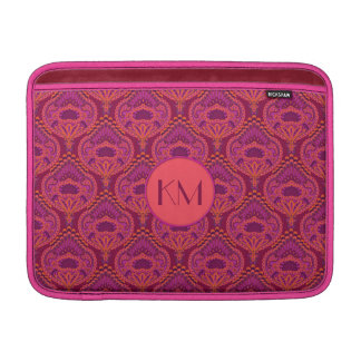 Feathered Paisley - Pinkoinko Sleeve For MacBook Air