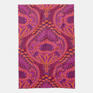 Feathered Paisley - Pinkoinko Towel
