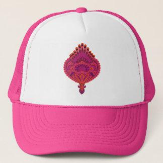 Feathered Paisley - Pinkoinko Trucker Hat