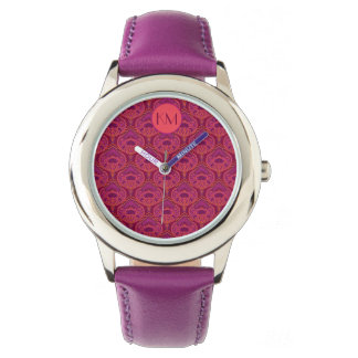 Feathered Paisley - Pinkoinko Wrist Watches