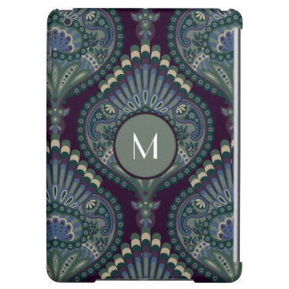 Feathered Paisley - Winter Forest Case For iPad Air
