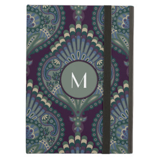 Feathered Paisley - Winter Forest iPad Air Case