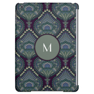 Feathered Paisley - Winter Forest iPad Air Cover