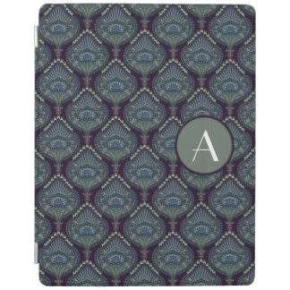 Feathered Paisley - Winter Forest iPad Cover